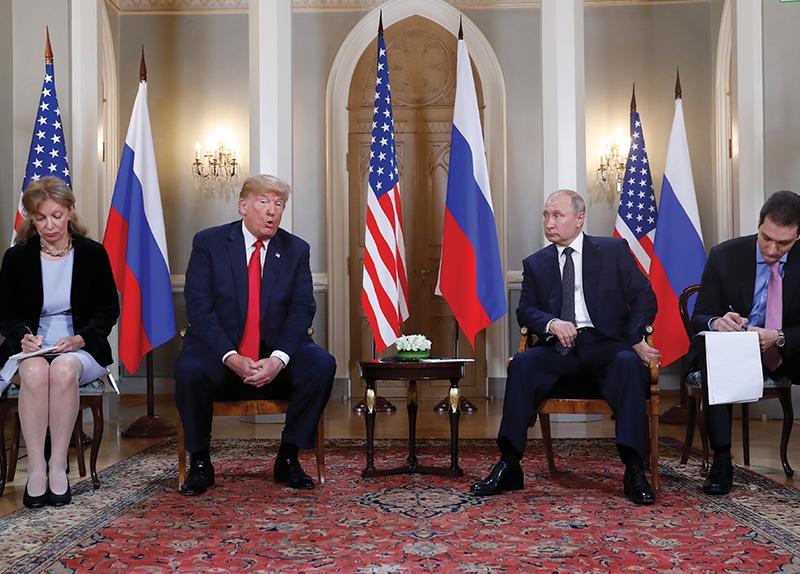 Trump Meets Putin - Newsfeed