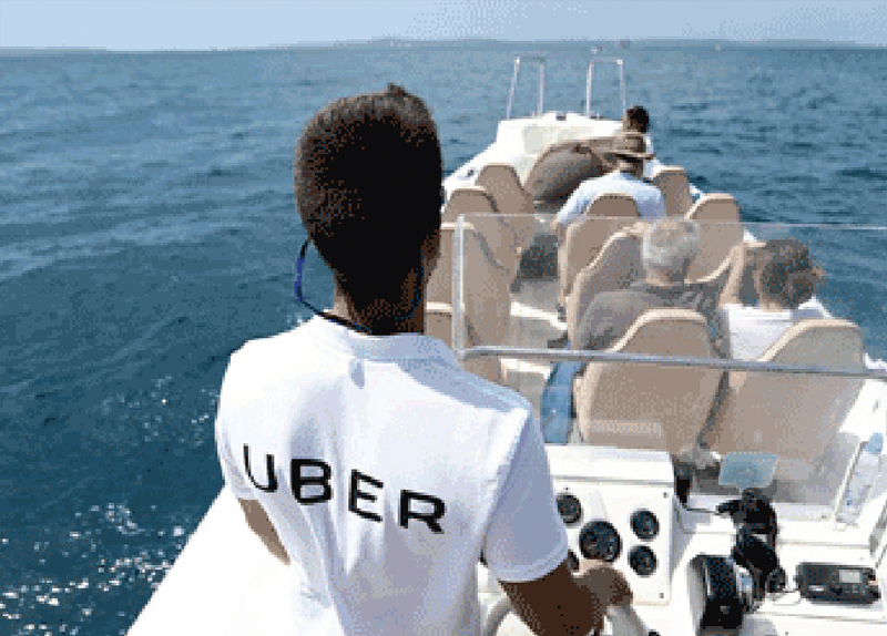 Uber Boat Launches In Mumbai - World on the Move