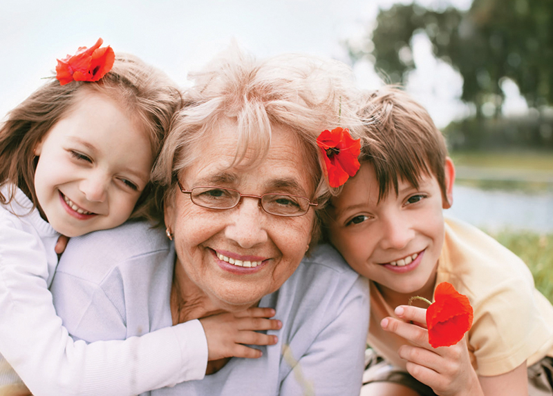 Gorgeous Grandma Day - Perspective