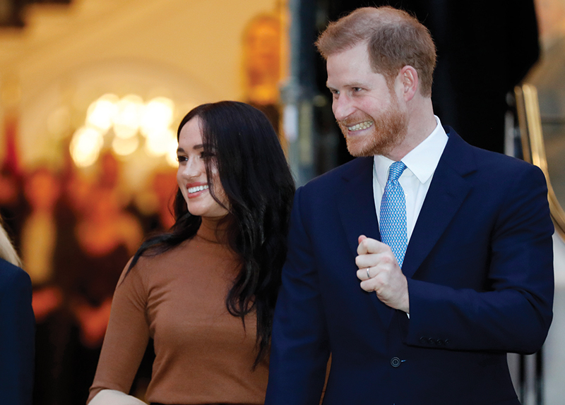 Prince Harry and Meghan Markle Leave the British Royal Family - Hot News