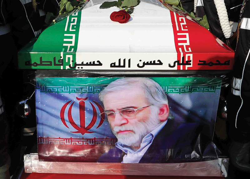 Chief Iranian Nuclear Scientist Assassinated by Remote-Controlled Machine Gun - World Matters