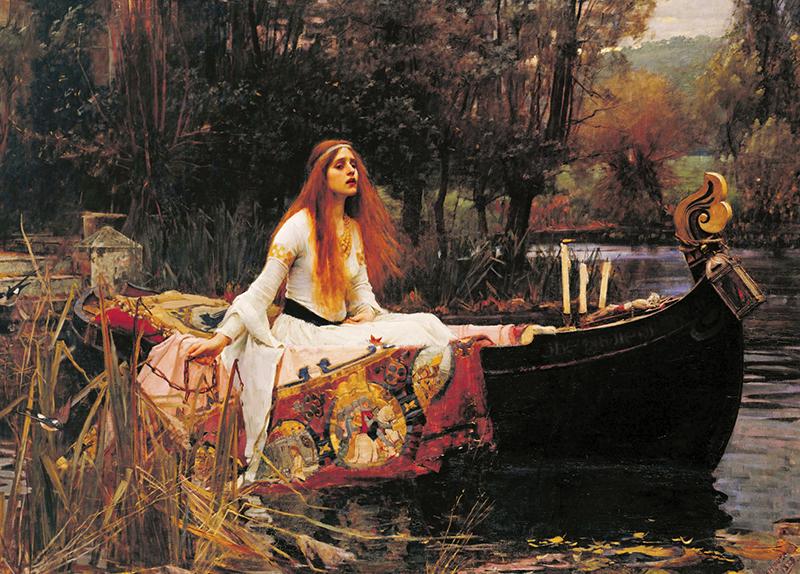 The Lady of Shalott - Arts