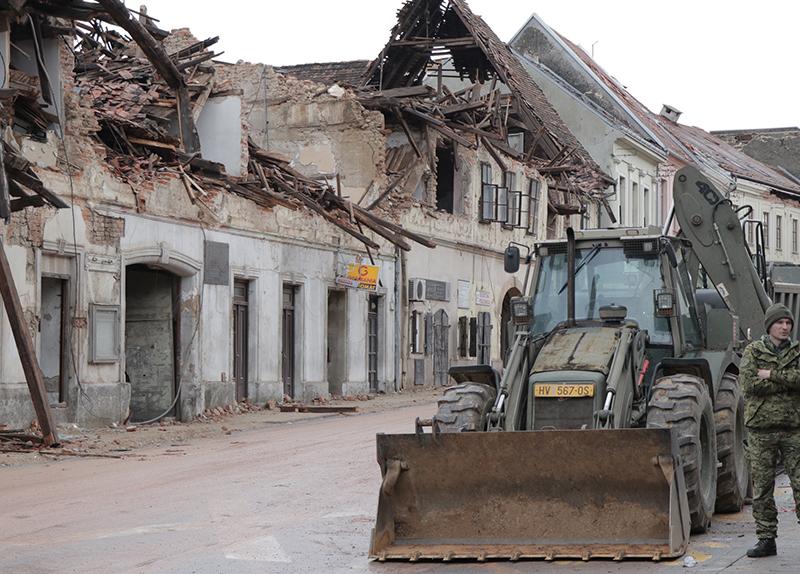 Earthquake in Croatia - World Matters