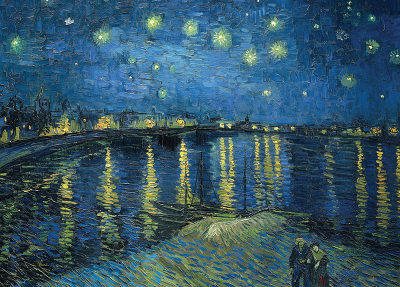 Starry Night Over the Rhone - Arts