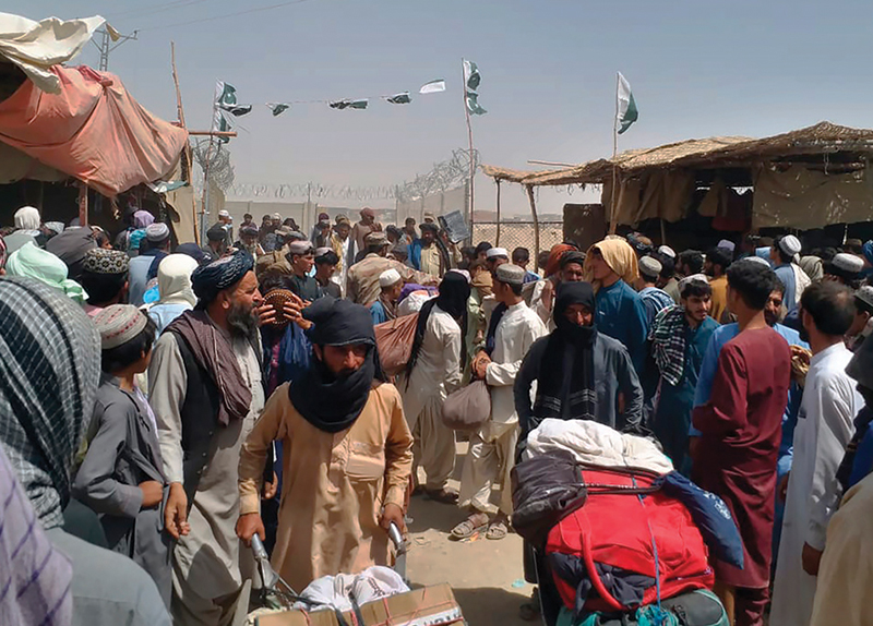 Citizens Try To Escape as Taliban Seize Power in Afghanistan - World Matters